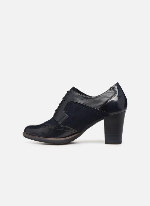 Lace-up shoes Tamaris NAMU NEW Blue front view