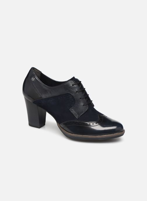 Lace-up shoes Tamaris NAMU NEW Blue detailed view/ Pair view