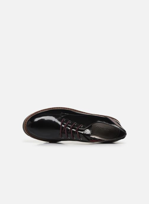Lace-up shoes Tamaris ALBANE Black view from the left