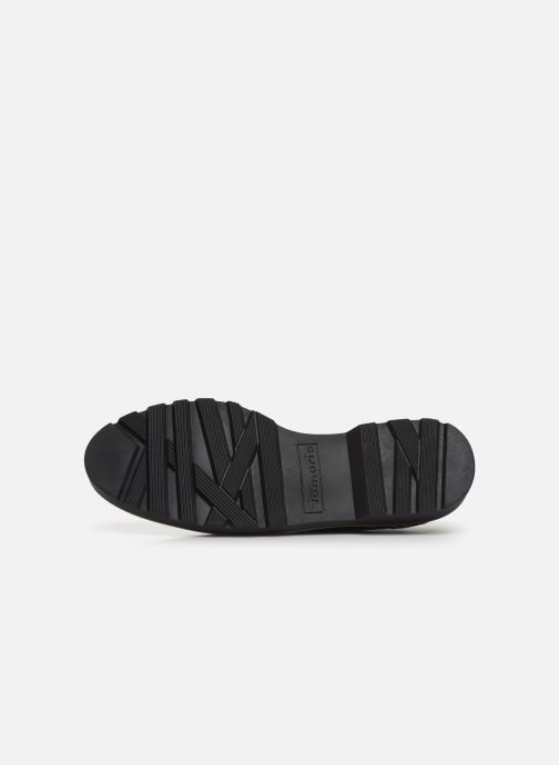 Lace-up shoes Tamaris ALBANE Black view from above