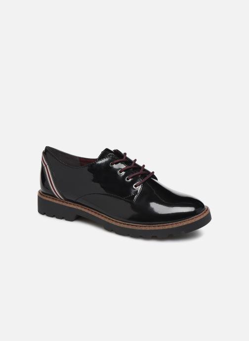 Lace-up shoes Tamaris ALBANE Black detailed view/ Pair view