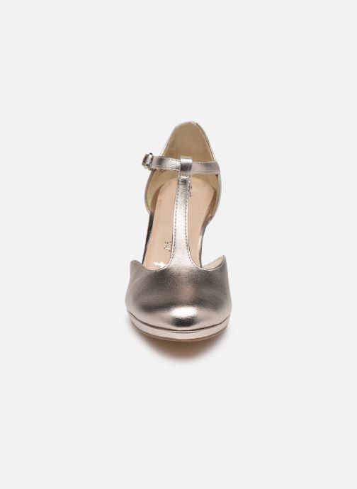Escarpins Tamaris AXELLE Or et bronze vue portées chaussures