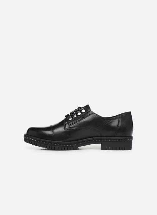 Chaussures à lacets Tamaris Corinne Noir vue face