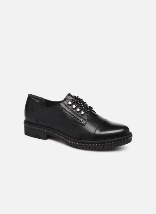 Chaussures à lacets Tamaris Corinne Noir vue détail/paire