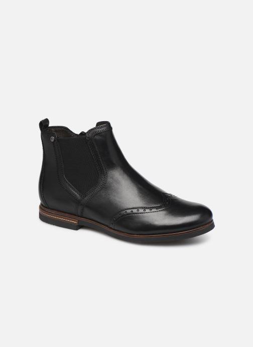 Ankle boots Tamaris Luis Black detailed view/ Pair view