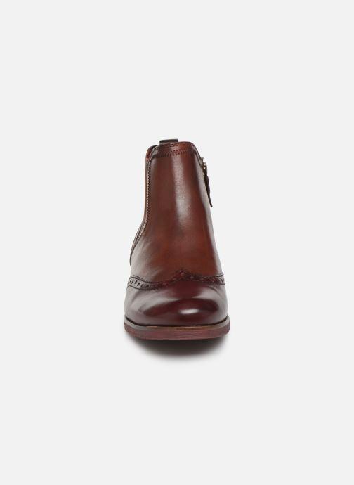 Bottines et boots Tamaris Luis Bordeaux vue portées chaussures