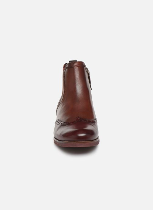 Ankle boots Tamaris Luis Burgundy model view