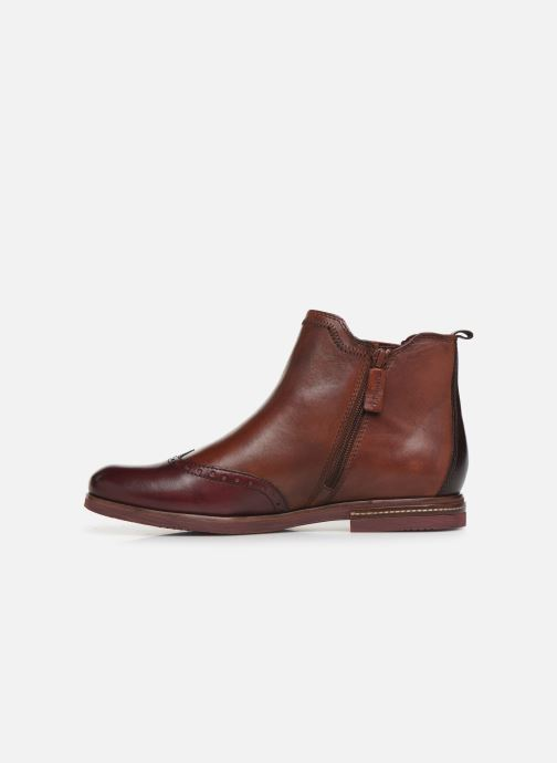 Bottines et boots Tamaris Luis Bordeaux vue face