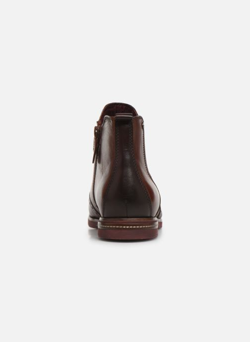 Ankle boots Tamaris Luis Burgundy view from the right