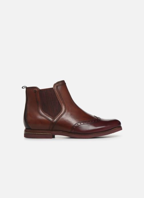 Ankle boots Tamaris Luis Burgundy back view