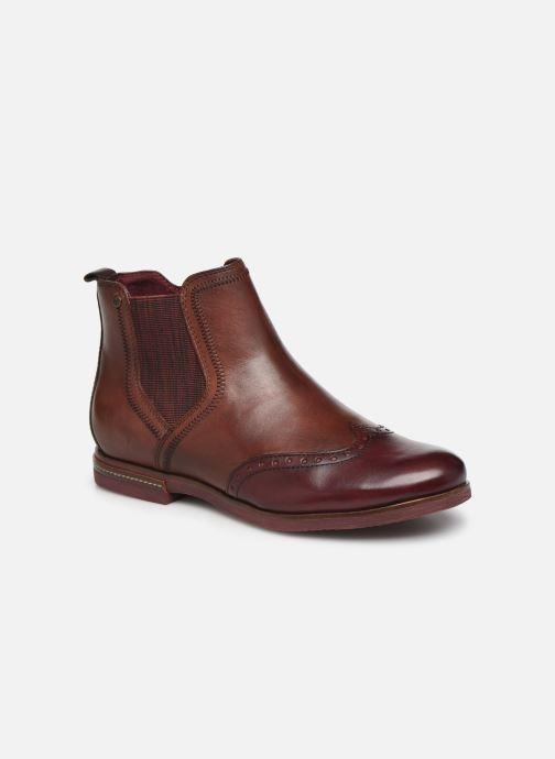 Boots en enkellaarsjes Tamaris Luis Bordeaux detail