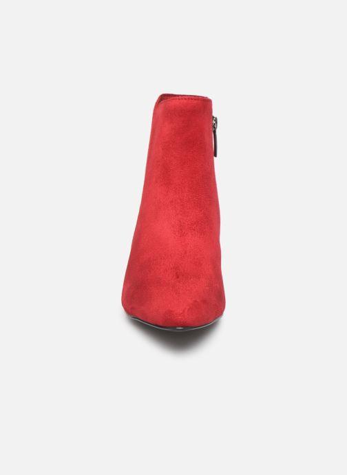 Bottines et boots Tamaris Olympe Rouge vue portées chaussures