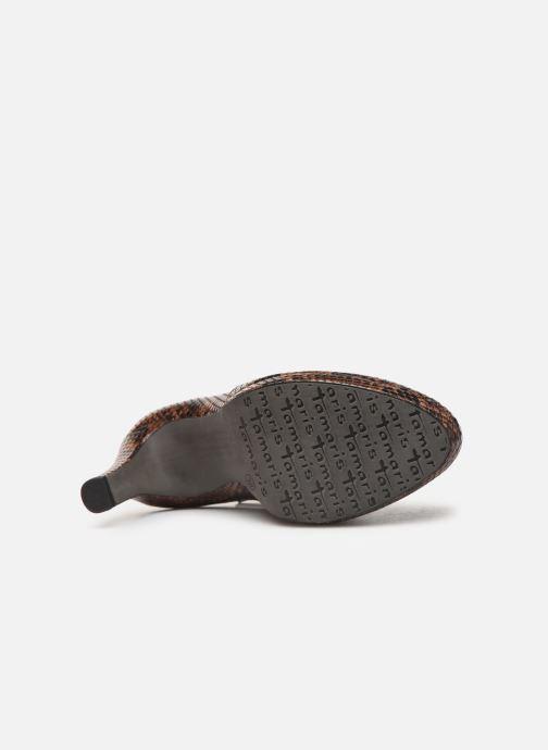 Bottines et boots Tamaris Galata New Marron vue haut