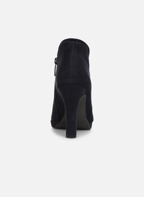 Bottines et boots Tamaris Galata New Bleu vue droite