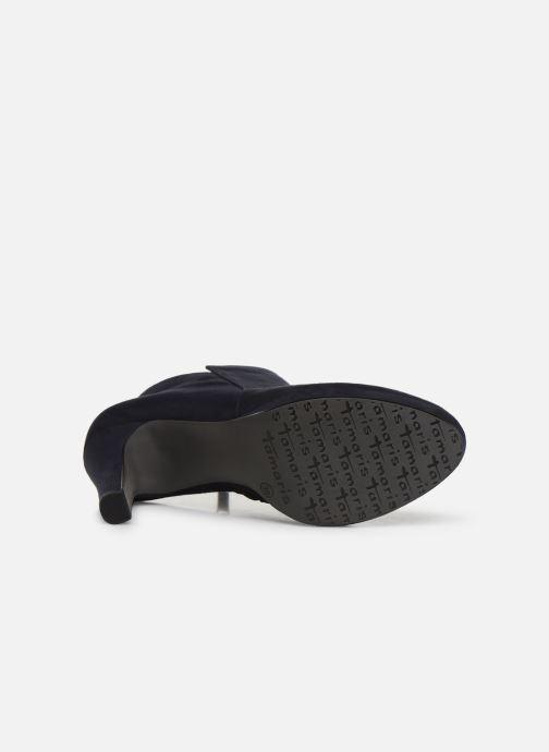 Bottines et boots Tamaris Galata New Bleu vue haut