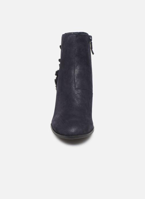 Bottines et boots Tamaris Annia Bleu vue portées chaussures