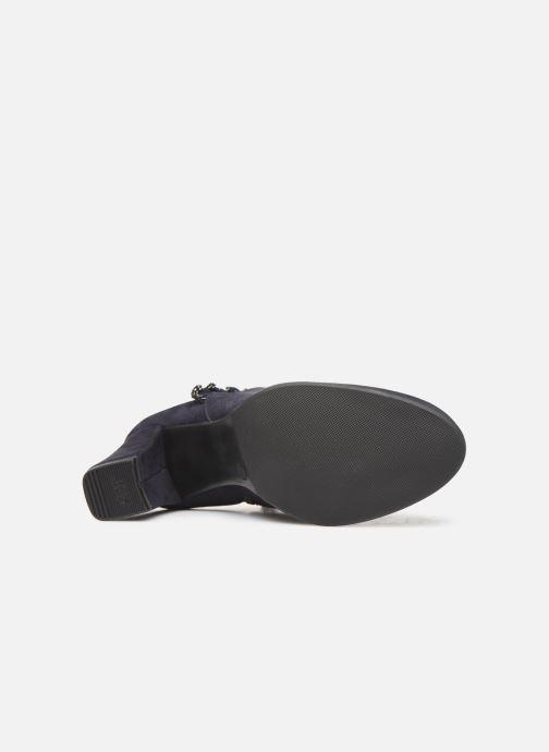 Bottines et boots Tamaris Annia Bleu vue haut