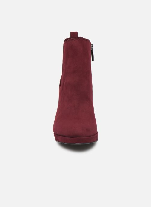 Bottines et boots Tamaris Oriane Bordeaux vue portées chaussures