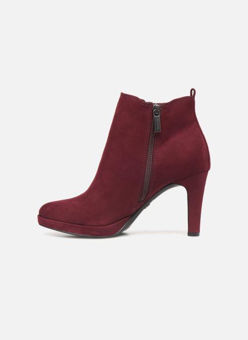 Bottines et boots Tamaris Oriane Bordeaux vue face