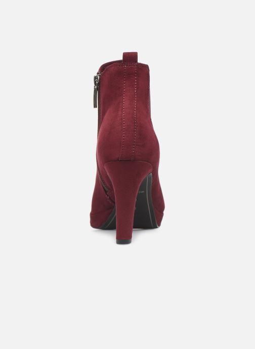 Bottines et boots Tamaris Oriane Bordeaux vue droite