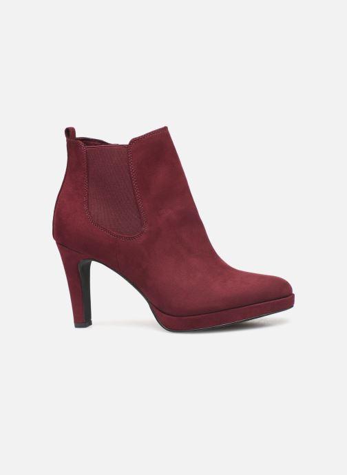 Bottines et boots Tamaris Oriane Bordeaux vue derrière