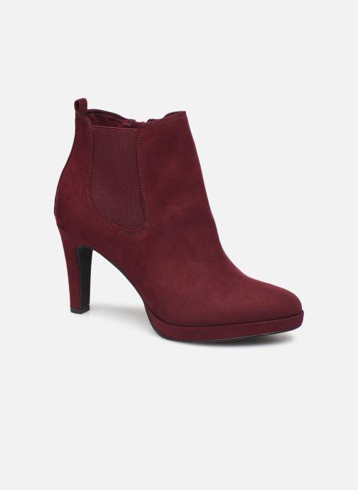 Bottines et boots Tamaris Oriane Bordeaux vue détail/paire