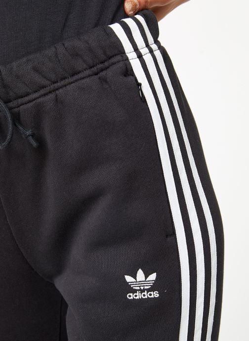 Vêtements adidas originals Regular Track Pants Cuffed Noir vue face