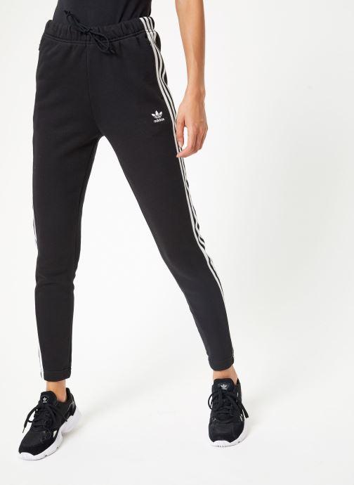 Vêtements adidas originals Regular Track Pants Cuffed Noir vue détail/paire