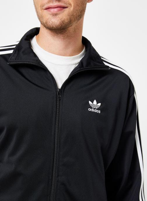 Vêtements adidas originals Firebird Tt Noir vue face