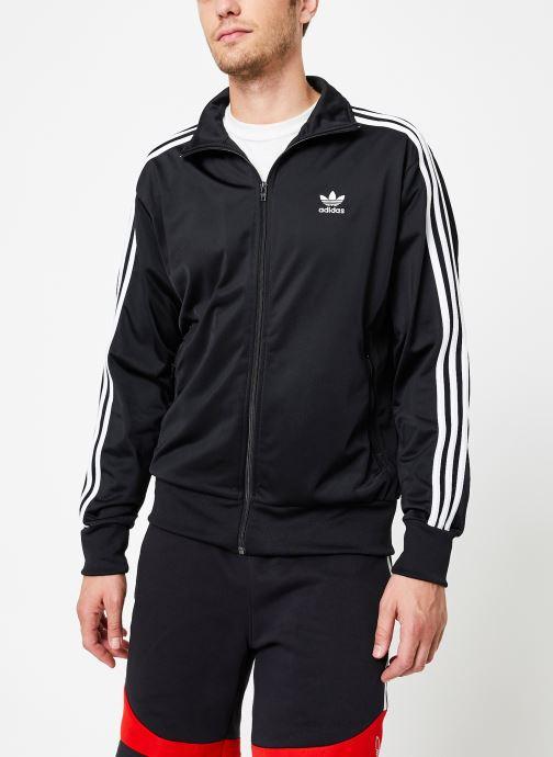 Vêtements adidas originals Firebird Tt Noir vue droite