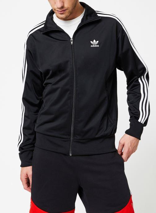 Vêtements adidas originals Firebird Tt Noir vue détail/paire
