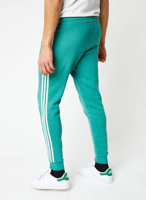 Vêtements adidas originals 3-Stripes Pant Vert vue portées chaussures