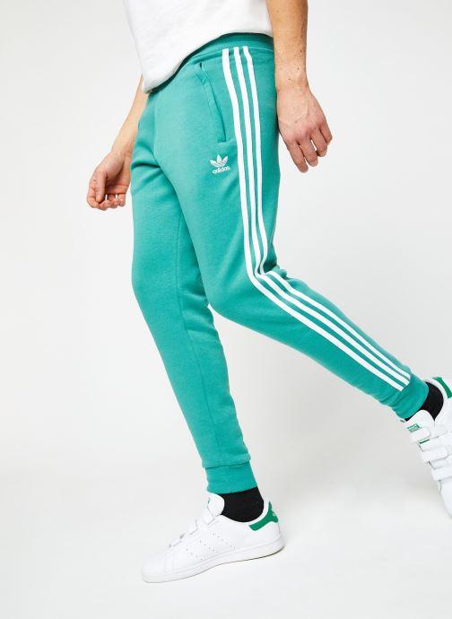 Vêtements adidas originals 3-Stripes Pant Vert vue détail/paire