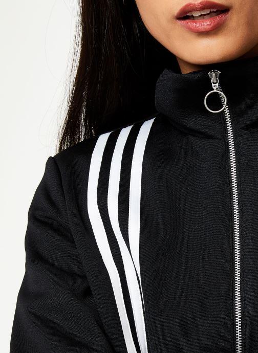 Vêtements adidas originals Tlrd Track Top Noir vue face