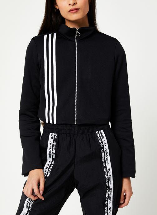 Vêtements adidas originals Tlrd Track Top Noir vue détail/paire