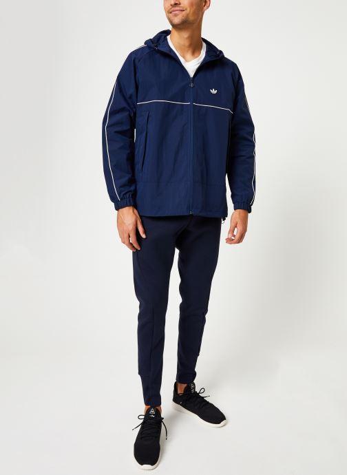adidas originals Manteau mi-long - Shell Jacket (Bleu) - Vêtements (399167)