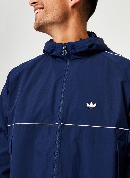 Vêtements adidas originals Shell Jacket Bleu vue face
