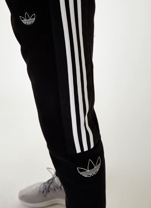 Tøj adidas originals Outline Sp Flc Sort se forfra