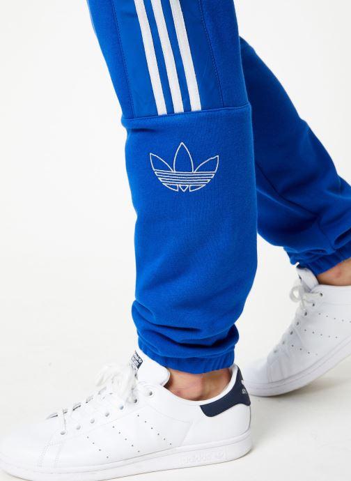Vêtements adidas originals Outline Sp Flc Bleu vue face