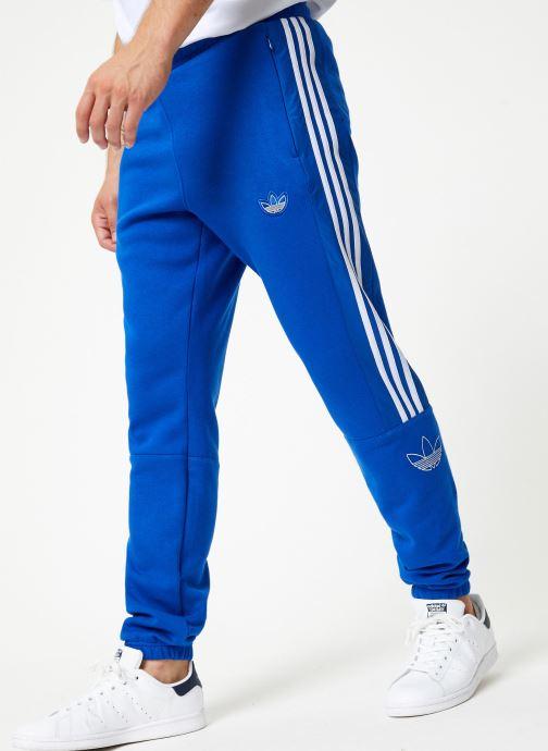 Vêtements adidas originals Outline Sp Flc Bleu vue détail/paire