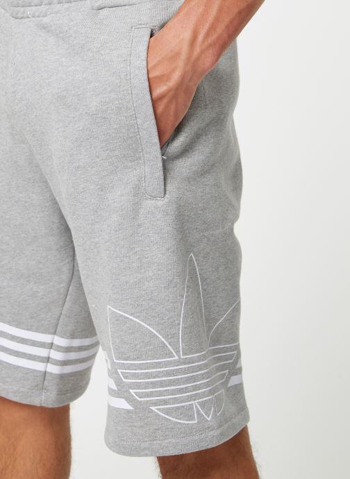 Vêtements adidas originals Outline Trf Sh Gris vue face