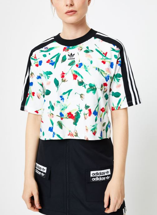 adidas originals T shirt Cropped Aop Tee (Blanc