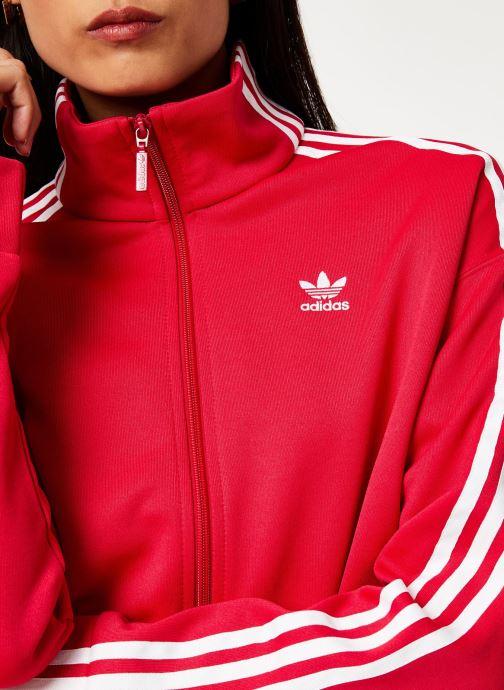 Vêtements adidas originals Tracktop Rose vue face