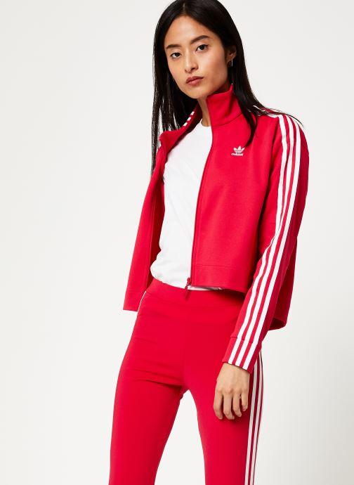 Vêtements adidas originals Tracktop Rose vue droite
