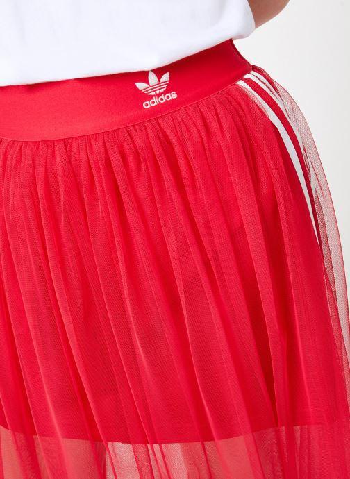 Kleding adidas originals Tulle Skirt Roze voorkant