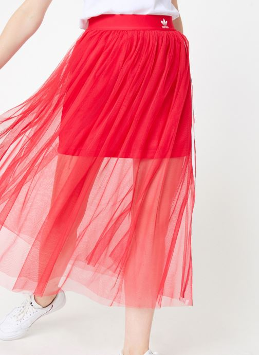 Kleding adidas originals Tulle Skirt Roze detail