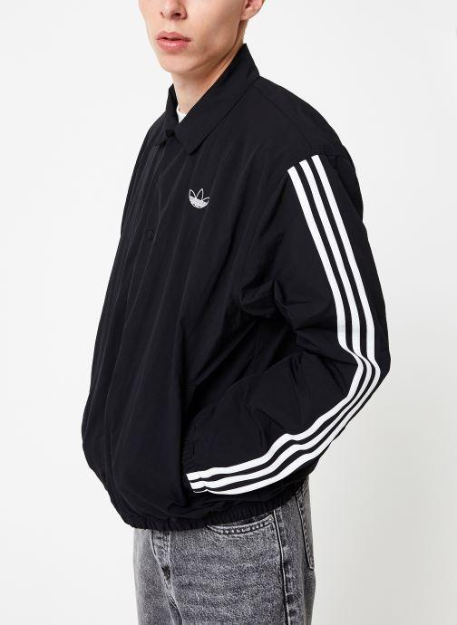 Vêtements adidas originals Trefoil Coach J Noir vue droite
