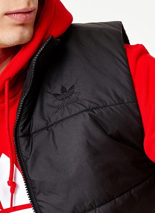 Tøj adidas originals Vest Sort se forfra