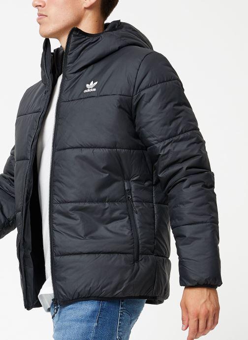Vêtements adidas originals Jacket Padded Noir vue détail/paire