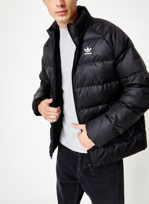 Kleding adidas originals Jacket Down Zwart detail